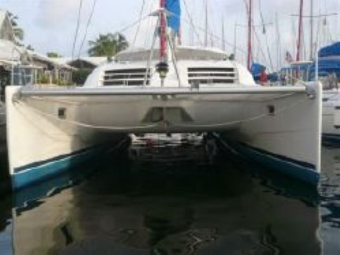 Preowned Sail Catamarans for Sale 2007 Leopard 43  Boat Highlights